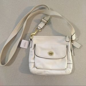 Coach | Ivory Leather Crossbody Bag